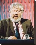 Peter Ustinov Stretched Canvas Print