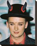 Boy George Stretched Canvas Print
