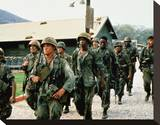 Tour of Duty (1987) Stretched Canvas Print