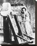 Barbara Steele Stretched Canvas Print