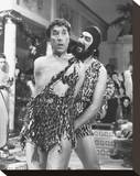 Frankie Howerd Stretched Canvas Print