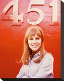 Julie Christie, Fahrenheit 451 (1966) Stretched Canvas Print