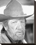 Richard Boone, The Shootist (1976) Stretched Canvas Print