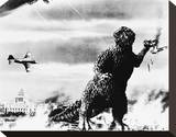 Godzilla, King of the Monsters! (1956) Stretched Canvas Print