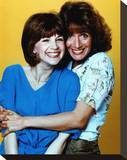 Laverne & Shirley Stretched Canvas Print