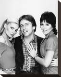 Three's Company (1977) Stretched Canvas Print