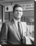 Robert Stack, The Name of the Game (1968) Stretched Canvas Print