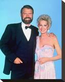 Glen Campbell & Tammy Wynette Stretched Canvas Print
