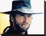 Clint Eastwood, High Plains Drifter (1973) Stretched Canvas Print