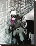 Clayton Moore, The Lone Ranger (1956) Stretched Canvas Print
