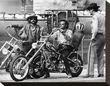 Easy Rider (1969) Stretched Canvas Print