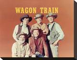 Wagon Train (1957) Stretched Canvas Print