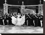 Broadway Melody of 1936 Stretched Canvas Print