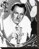 Jack Klugman, Quincy M.E. (1976) Stretched Canvas Print