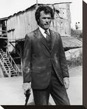 Clint Eastwood, Dirty Harry (1971) Stretched Canvas Print