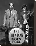 The Thin Man Goes Home (1945) Stretched Canvas Print