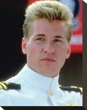 Val Kilmer, Top Gun (1986) Stretched Canvas Print