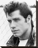 John Travolta, Grease (1978) Stretched Canvas Print