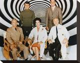 The Time Tunnel (1966) Stretched Canvas Print