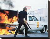 The Getaway (1972) Stretched Canvas Print