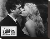 La dolce vita (1960) Stretched Canvas Print