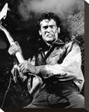 Bruce Campbell, Evil Dead II (1987) Stretched Canvas Print