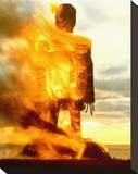 The Wicker Man (2003) Stretched Canvas Print