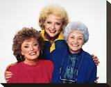 Estelle Getty, The Golden Girls (1985) Stretched Canvas Print