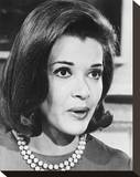 Jessica Walter Stretched Canvas Print