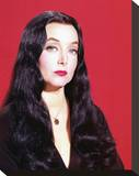 Carolyn Jones, The Addams Family (1964) Stretched Canvas Print