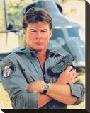 Jan-Michael Vincent, Airwolf (1984) Stretched Canvas Print