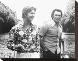 Thunderbolt and Lightfoot (1974) Stretched Canvas Print