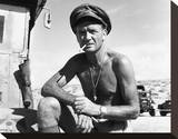John Mills, Ice-Cold in Alex (1958) Stretched Canvas Print