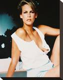 Jamie Lee Curtis Stretched Canvas Print