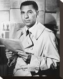 Jack Webb, Dragnet (1951) Stretched Canvas Print