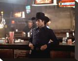 John Travolta, Urban Cowboy (1980) Stretched Canvas Print