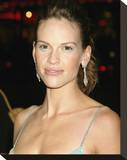 Hilary Swank Stretched Canvas Print