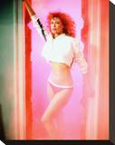 Kelly LeBrock, Weird Science (1985) Stretched Canvas Print