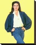 Stephanie Zimbalist, Remington Steele (1982) Stretched Canvas Print
