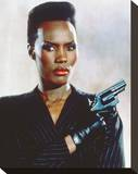 Grace Jones, A View to a Kill (1985) Stretched Canvas Print
