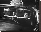 Taxi Driver Stretched Canvas Print