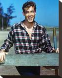 Guy Madison Stretched Canvas Print