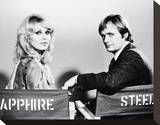 Sapphire and Steel (1979) Stretched Canvas Print