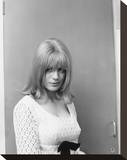 Marianne Faithfull Stretched Canvas Print