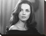 Joanne Whalley Stretched Canvas Print
