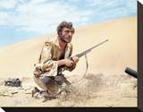 Nigel Davenport, Sands of the Kalahari (1965) Stretched Canvas Print