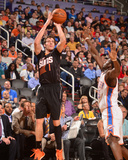 Mar 6, 2014, Oklahoma City Thunder vs Phoenix Suns - Goran Dragic Photographic Print by Barry Gossage