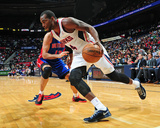 Nov 20, 2013, Detroit Pistons vs Atlanta Hawks - Paul Millsap Photo by Scott Cunningham