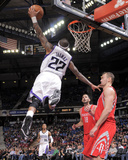 Feb 25, 2014, Houston Rockets vs Sacramento Kings - Isaiah Thomas Photographic Print by Rocky Widner