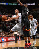 Mar 6, 2014, Miami Heat vs San Antonio Spurs - Tony Parker Photographic Print by Jesse D. Garrabrant